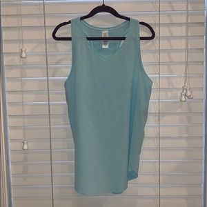 Ivivva Mint Green Athletic Tank Top